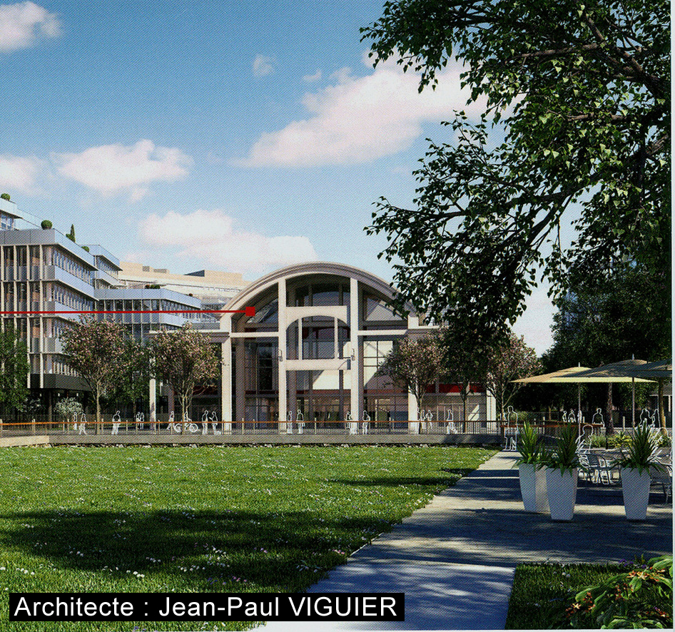 Architecte Jean-Paul VIGUIER