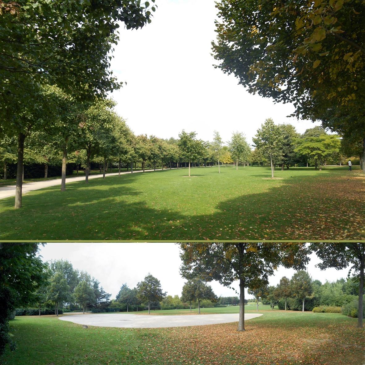 Le parc des Chanteraines