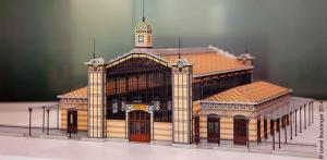 Gare Lisch maquette 01