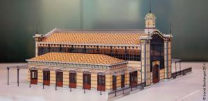 Gare Lisch maquette 02