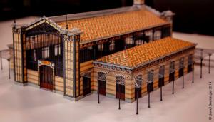 Gare Lisch maquette 03