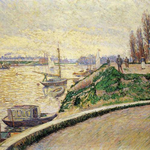 Paul Signac, Berge d'Asnières-sur-Seine